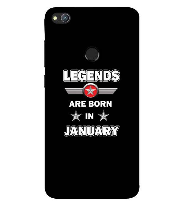Legends Customised Back Cover for Huawei Honor 8 Lite