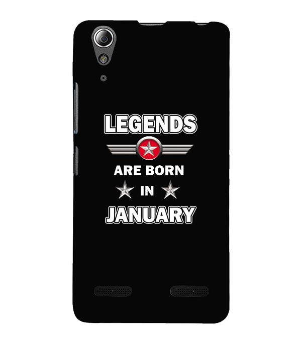 the best attitude 074bf 20705 Legends Customised Back Cover for Lenovo A6000 and A6000 Plus