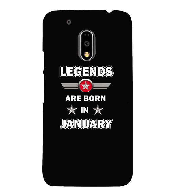 Legends Customised Back Cover for Motorola Moto G4 and Moto G4 Plus