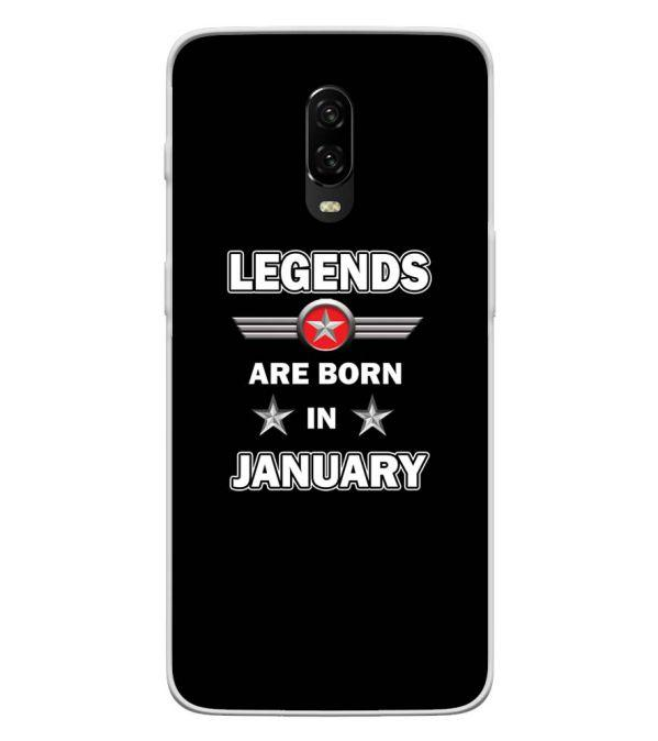 Legends Customised Back Cover for OnePlus 6T