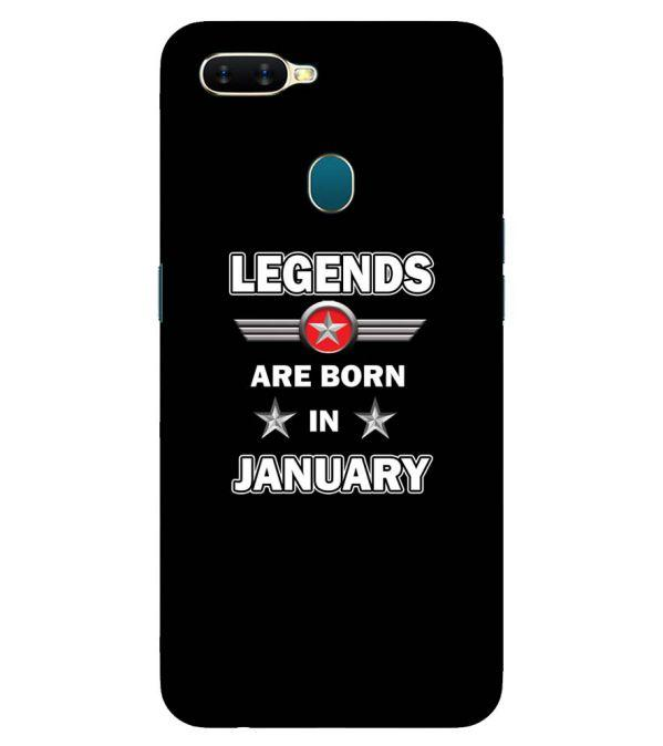 Legends Customised Back Cover for Oppo A7