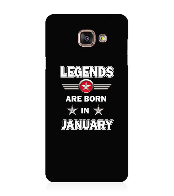 Legends Customised Back Cover for Samsung Galaxy A5 (6) 2016