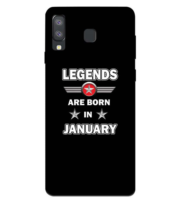 Legends Customised Back Cover for Samsung Galaxy A8 Star