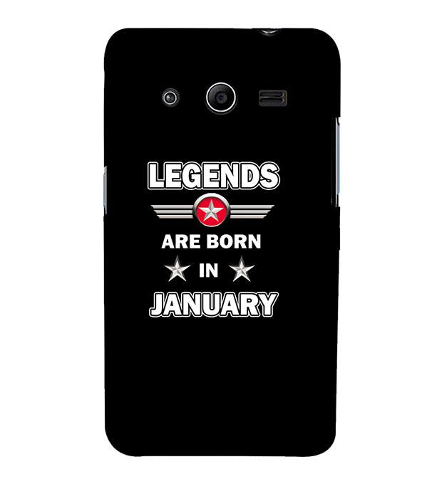 Legends Customised Back Cover for Samsung Galaxy Core 2 G355H