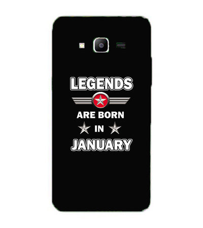 Legends Customised Back Cover for Samsung Galaxy J2 Prime