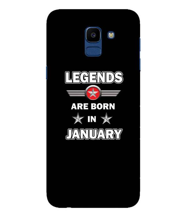 Legends Customised Back Cover for Samsung Galaxy On6