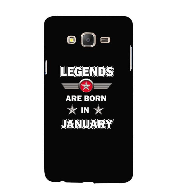 Legends Customised Back Cover for Samsung Galaxy On7 and On 7 Pro