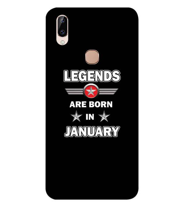 Legends Customised Back Cover for Vivo Y83 Pro