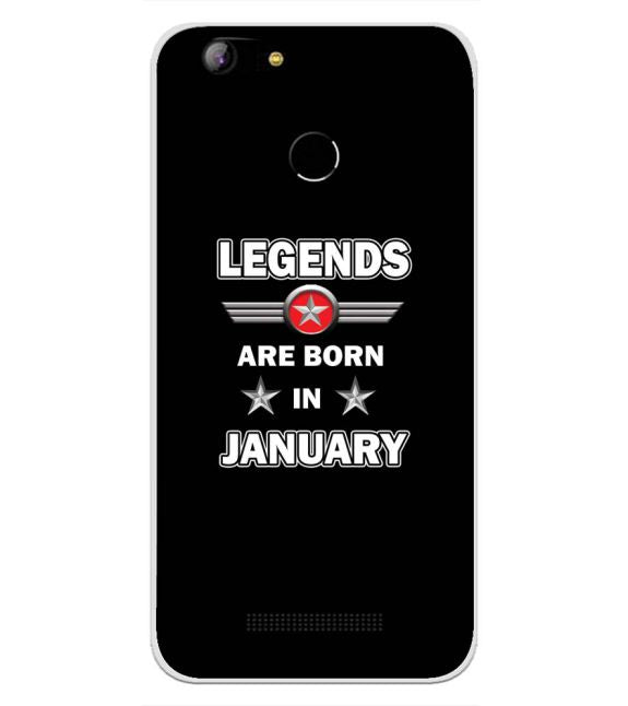 Legends Customised Back Cover for Intex Aqua Lions X1