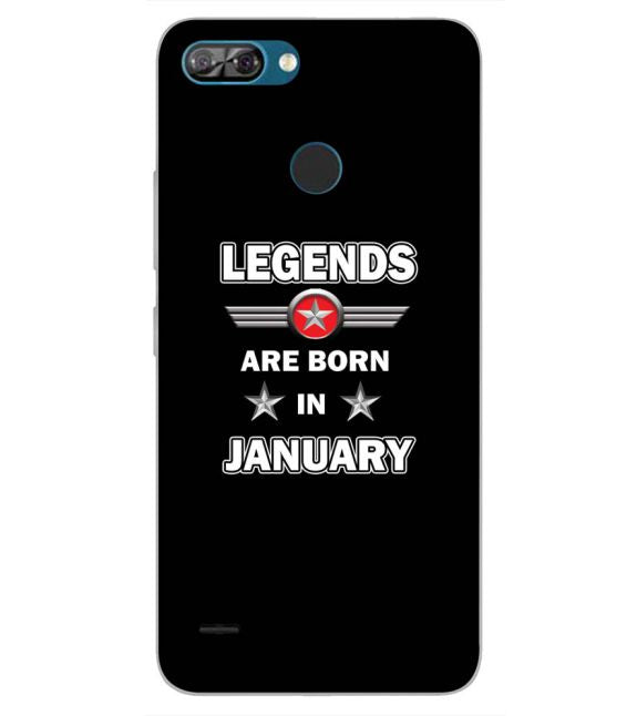 Legends Customised Back Cover for Itel A46-Image3