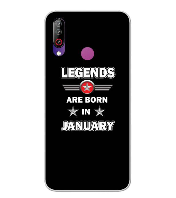 Legends Customised Back Cover for LG W30-Image3
