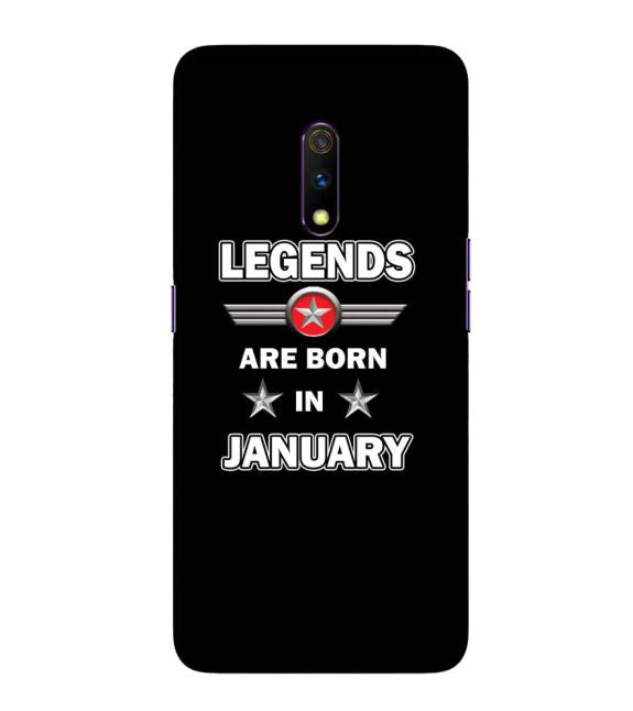 Legends Customised Back Cover for Realme X