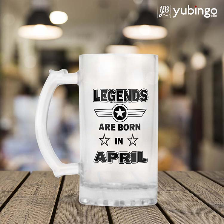 Legends Customised Beer Mug
