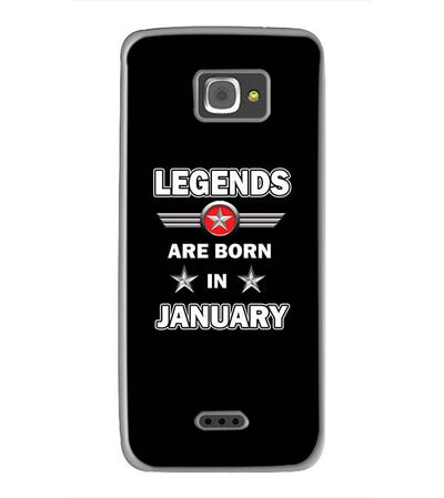 Legends Customised Back Cover for InFocus M350