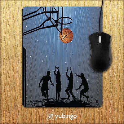 Let's Play Basketball Mouse Pad-Image2