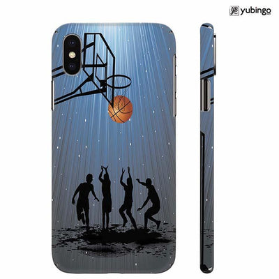 Let's Play Basketball Back Cover for Apple iPhone X