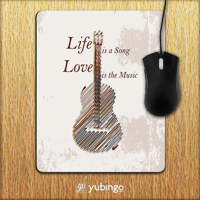 Life is a Song Mouse Pad-Image2