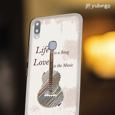 Life is a Song Back Cover for Vivo X21-Image4