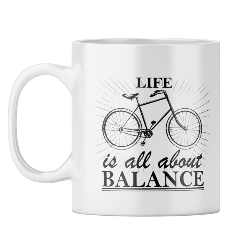 Life Is Balance Coffee Mug
