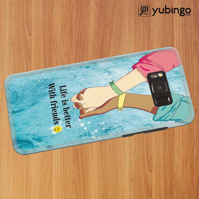 Life is Better with Friends Back Cover for Samsung Galaxy S8 Plus-Image3