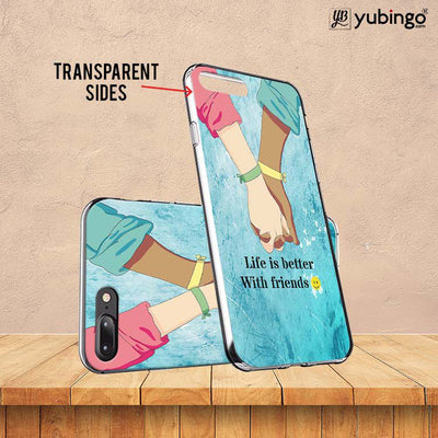 Life is Better with Friends Back Cover for ITEL PWO Pro-Image3