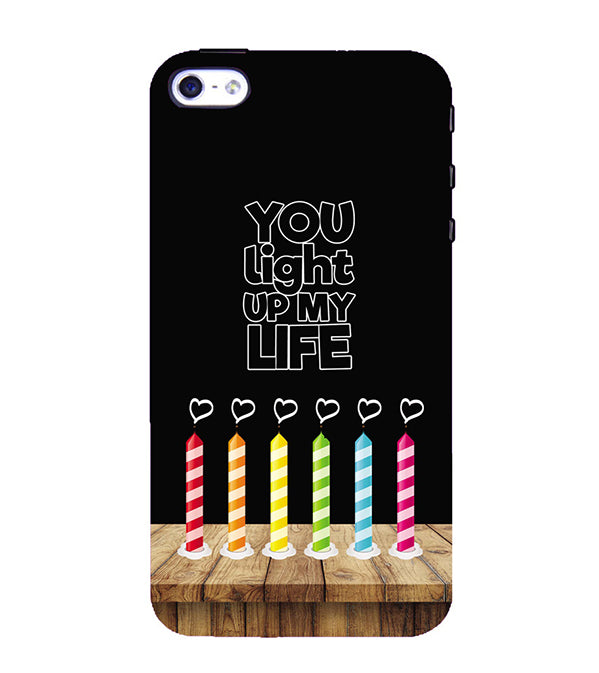 wholesale dealer 26eae 036b9 Light Up My Life Back Cover for Apple iPhone 4 : 4S