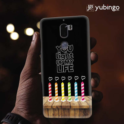 Light Up My Life Back Cover for Coolpad Cool 1-Image2