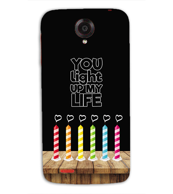 Light Up My Life Back Cover for Lenovo S820