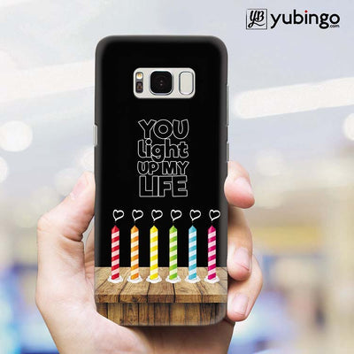 Light Up My Life Back Cover for Samsung Galaxy S8 Plus-Image2