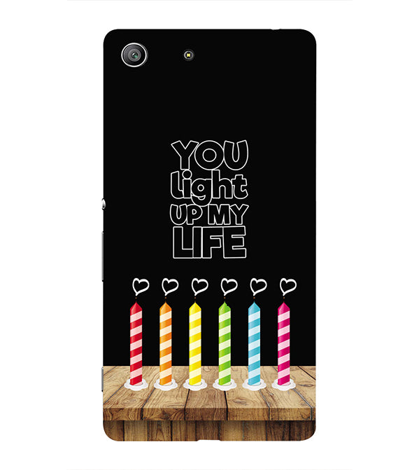Light Up My Life Back Cover for Sony Xperia Z3 Compact