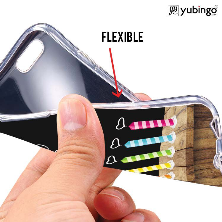 Light Up My Life Soft Silicone Back Cover for Samsung Galaxy Grand Quattro 8552