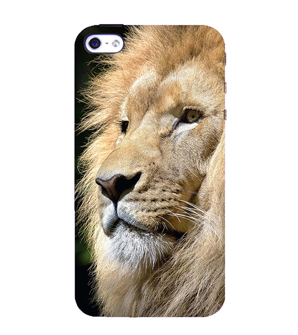 Lion Back Cover for Apple iPhone 4 : 4S