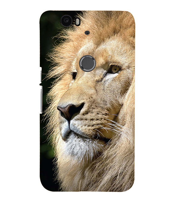 Lion Back Cover for Google Nexus 6P