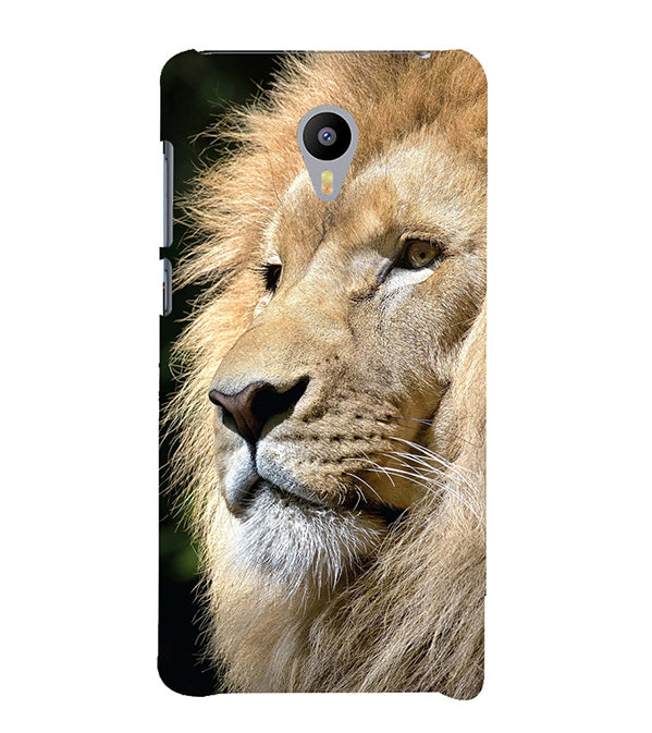Lion Back Cover for Meizu M3 Note
