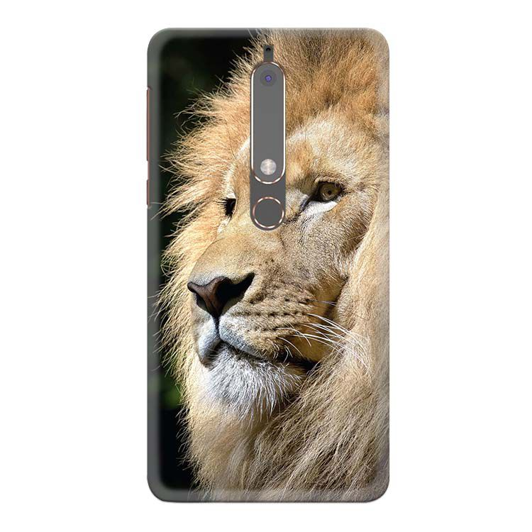 Lion Back Cover for Nokia 6 (2018)