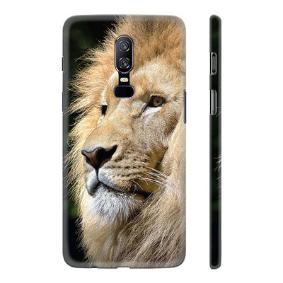 Lion Back Cover for OnePlus 6