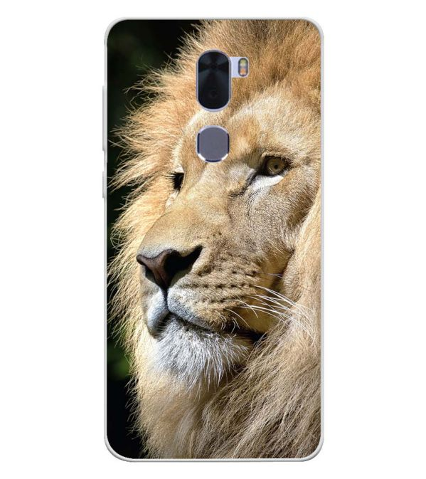 Lion Soft Silicone Back Cover for Coolpad Cool 1