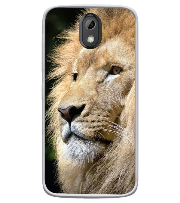 Lion Soft Silicone Back Cover for HTC Desire 526