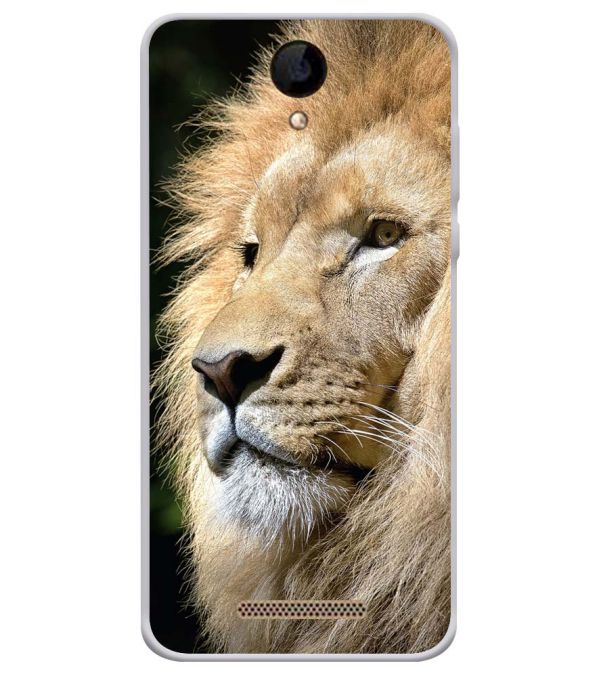 Lion Soft Silicone Back Cover for iVOOMi 505