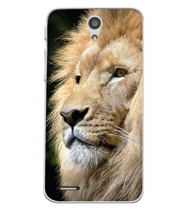 Lion Soft Silicone Back Cover for InFocus M260