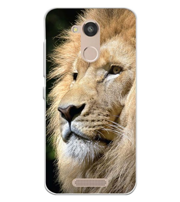 Lion Soft Silicone Back Cover for InFocus Turbo 5s