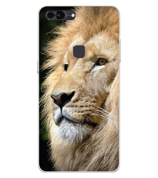 Lion Soft Silicone Back Cover for Lava Z90