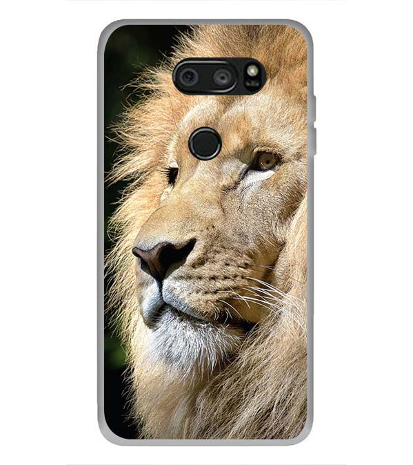 Lion Back Cover for LG V30 Plus
