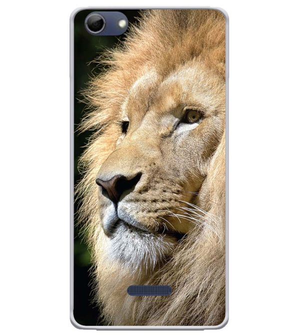 Lion Soft Silicone Back Cover for Micromax Selfie 3 Q348