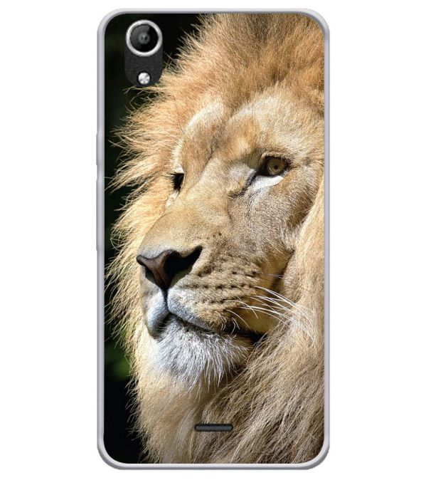 Lion Soft Silicone Back Cover for Micromax Selfie Lens Q345