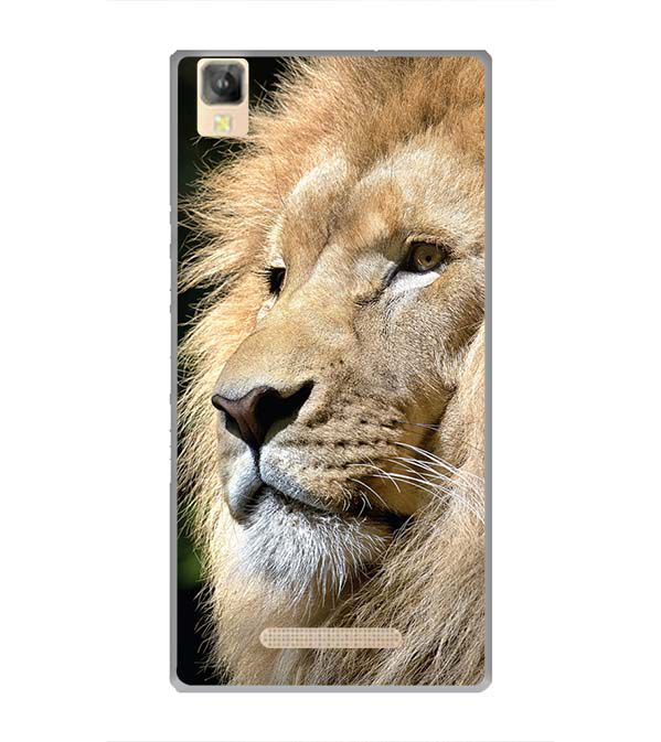 Lion Back Cover for Panasonic Eluga A2