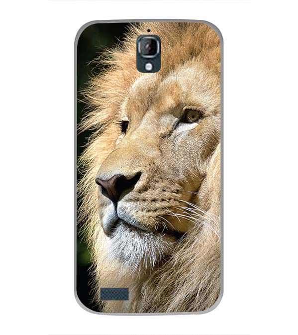 Lion Back Cover for Panasonic Eluga Icon