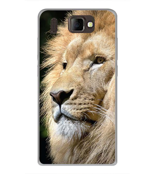 Lion Back Cover for Panasonic P66 Mega