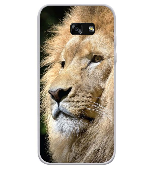 Lion Soft Silicone Back Cover for Samsung Galaxy A3 (2017)