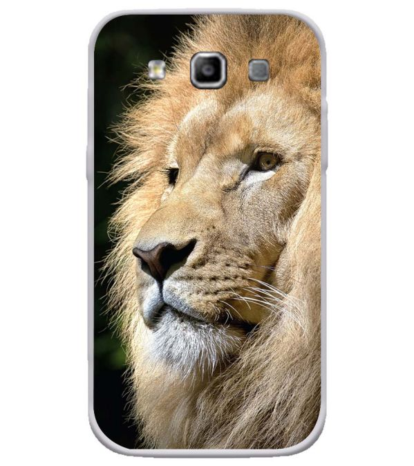 Lion Soft Silicone Back Cover for Samsung Galaxy Grand Quattro 8552